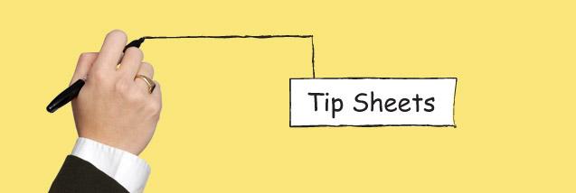 Spark Tip Sheets